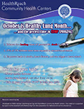 October is Healthy Lung Month